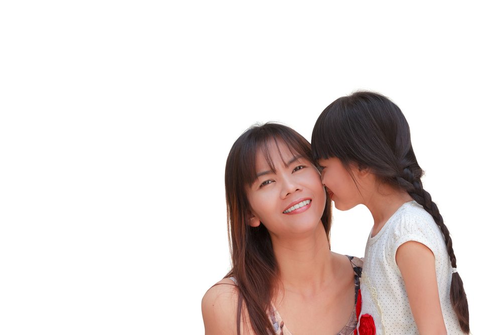 Hot asian girl kiss