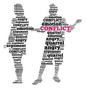 conflict graphic