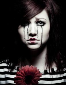 depressed stunning