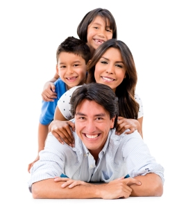 happy hispanic family3