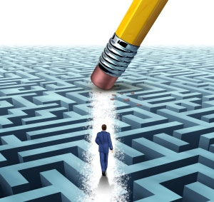 problem solving- erasing maze