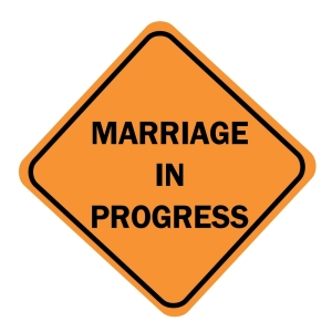 marriage in progress